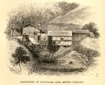 Maquinaria de un plantel minero para la extracción de oro en Chontales